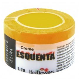 CREME ESQUENTA 3,5G HOT FLOWERS