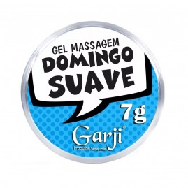 DOMINGO SUAVE GEL LUBRIFICANTE MENTA 7G GARJI